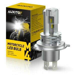 H4 CSP LED Bulb HID White 360° Hi/Low Beam Motorcycle Headlight 6000K High Power