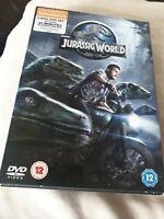 Jurassic World - 2 Disc Version DVD, 2015, Chris Pratt, Cert 12, FREE POSTAGE!!