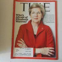 Time Magazine Who's Afraid Of Elizabeth Warren July 20, 2015 052617nonrh