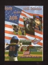 Auburn Doubledays--2006 Pocket Schedule--Nucor/Coke--Blue Jays Affiliate