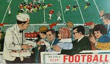 Vtg Coca Cola Advertising Bo Lyn's Flip Football Playing Card Game Board 1960's