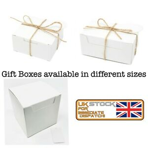 Gift Boxes Strong Eco WHITE Gift Packaging Storage Party Box Wholesale MultiPack