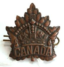 Badge Canadian General Service WW1