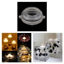 Plastic Clear Round Shaped Candle Mould Soap Mold DIY Floating Candle Models