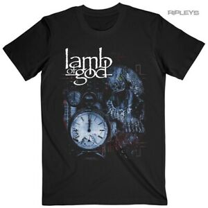 Official T Shirt Lamb of God Heavy Metal Circuitry Skull Recolor Small LAST ONE