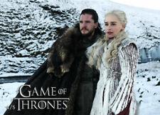 Emilia Clarke Kit Harington Season 8 Game of Thrones Promo Card 4/5