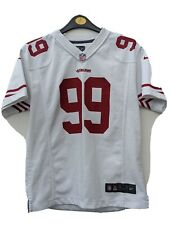 Nike Retro NFL San Francisco 49ers Aldon Smith Jersey, White, Youth Medium,