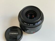 YONGNUO Yn35mm EF Fixed Prime Lens F2 AF MF Wide Angle for Canon EOS UK