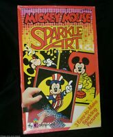 NEW IN BOX VINTAGE 1991 MICKEY MOUSE SPARKLE ART COLORFORMS DISNEY WORLD #872