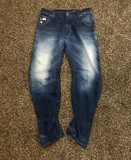 Mens G Star Jeans 33 30 Arc Tapered