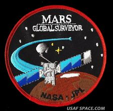MARS GLOBAL SURVEYOR ORIGINAL JPL NASA SATELLITE SPACE EXPLORATION PATCH