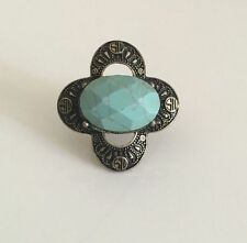 Turquoise Brass Fashion Rings