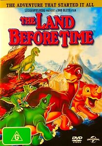144??sealed-THE LAND BEFORE TIME - DVD Region 4