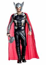 Marvel Comics Premium Deluxe Thor Padded Costume Jumpsuit Mens Adult MD-XL