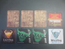 "8 different, Matilda Bay "" YAK ""  Issued collectable COASTERS"