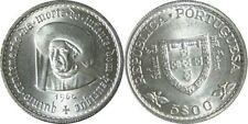 Pièces de monnaie d'Europe du Sud en argent de Portugal
