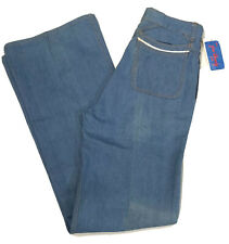 Jim Dandy Blue (12�) Bell Bottom Pants/Jeans W31 L36 Vintage