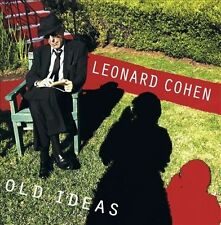 Leonard Cohen- Old Ideas cd, sealed, drill hole in cd case, poet, r.i.p.