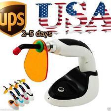 10W Wireless Cordless LED Dental Curing Light Lamp 2000MW Teeth Whitening USA