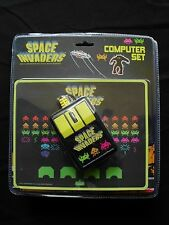 Space Invaders Computer Set - USB Mouse & Pad - Factory-Sealed for MAC or PC