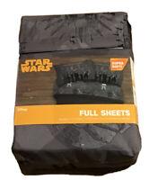 Star Wars Kessel Crew Full Sheet Set Gray New Disney Super Soft 4 Pc Bedding