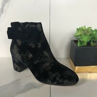 Kate Spade Black And Gold Holly Boot Size 8 * Single Right Shoe Only * Amputee