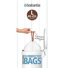 Brabantia Sac-poubelle Code L 5x 10stk. Sacs Poubelle Fit 45