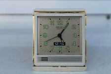 Vintage Old made Japan Seiko Quartz Alarm Clock  Watch Seikoshi