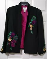 Drapers & Damon's Blazer STUNNING Beading and embroidery jacket Sz 16