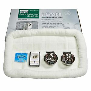 """Midwest iCrate Dog Crate Kit Extra Extra Large 48"""" x 30"""" x 33"""""""