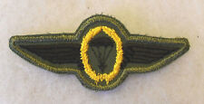 NAM ERA WEST GERMAN PARATROOPER WING AS AWARDED & WORN BY US AIRBORNE TROOPS