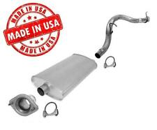 New Rear Muffler and Tail Pipe for Jeep Liberty 2.4 3.7 2002-2007 Made in USA