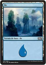 MTG Magic M15 FOIL - Island/Île, #257, French/VF