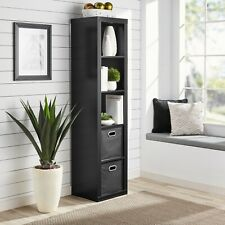 Better Homes and Gardens 5 Cube Storage Organizer - Black