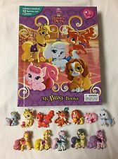 Disney Palace Pets My Busy Books with Case and Figurines ~ NO PLAY MAT