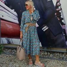 Sommer- Maxi -Kleid ´von LOVE -SARAH  im Paisley -Look Langarm ´Neue Kollektion