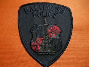 Collectible Maryland Police Patch,Baltimore SWAT,New