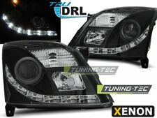 Headlights For OPEL VECTRA C 04.02-08.05 TRU DRL BLACK XENON D2S..