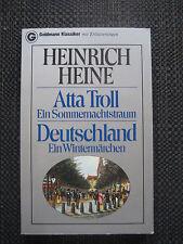 TB-Hch.Heine-Atta Troll-Ein Sommernachtstraum-Deutschland.Ein Wintermärchen-