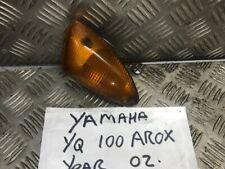 Yamaha YQ 100 Aerox YQ100 Derecho Delantero Indicadores 2002