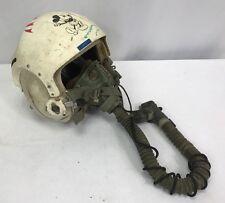 Vintage US Air Force Pilots Flight Helmet & O2 Mask