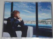 Simply Red-tan not Over You CD Maxi nuevo con embalaje original video incl.