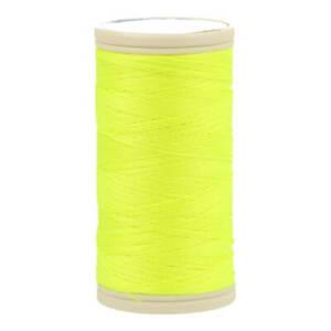1 Bobine de Fil à coudre Coats DUET 100 mètres 100 % polyester N° 6510 jaune