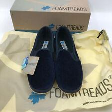 NIB Foamtreads Debbie Navy Blue comfort slippers  size 8 M