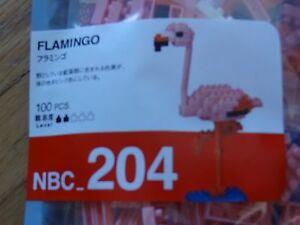 Flamingo Nanoblock Micro Sized Building Block Mini Brick Construction Toy NBC204