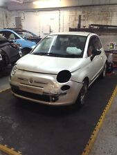 1.4 Fiat 500 breaking parts only 1x wheel bolt in pearl white
