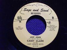 Casey Clark REPRO 45-Lost John