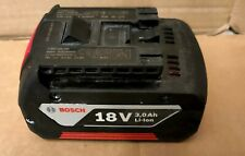 Genuine Bosch 18v 3AH Lithium Battery