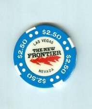 $2.50  NEW FRONTIER  CASINO POKER CHIP--