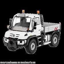 Mercedes Benz Unimog U 430 flatbed € 6 White 1:50